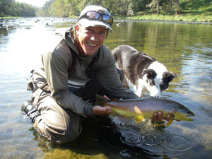 Pat Stone fly fishing guide